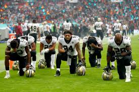The National by Nfl Players Are No Longer Kneeling In Protest During The National