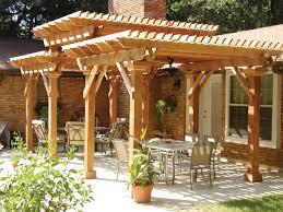 three tier pressure treated pergola archadeck outdoor living