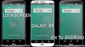 samsung galaxy s5 lock screen apk instala el lockscreen galaxy s5 en cualquier android android