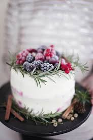 Winter Wedding Cakes 17 Of The Most Festive Winter Wedding Cakes Ever Mon Cheri Bridals