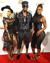 star power dbanj brings out strippers blac chyna and bernice