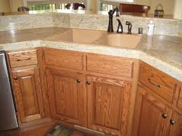 cabinets by andy stained oak cabinets
