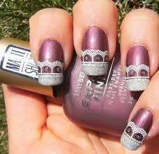 219 best lace nails images on pinterest lace nails lace nail