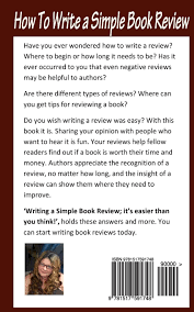 Write A Book Report How To Write A Simple Book Review It S Easier Than You Think