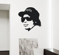 eazy e wall decal wall decals and hip hop eazy e wall decal