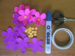 membuat hiasan bunga dari kertas lipat membuat bunting flag sendiri untuk acara ultah lena sari