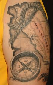 8th day tattoo chart and compass