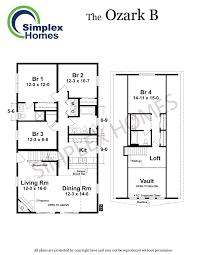 fourplex floor plans simplex homes ozark b cape modular home