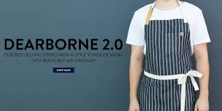 Custom Aprons For Men Hedley U0026 Bennett Handmade Chef Gear