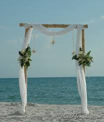 wedding arches bamboo bamboo arch white floral florida weddings