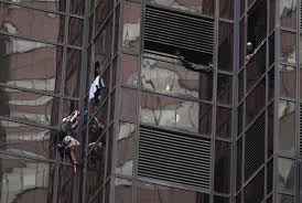 Trump Tower Inside See It Donald Supporter Scales Trump Tower With Suction Cups Ny