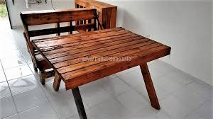 Wooden Pallet Bench Repurposed Wooden Pallet Projects Pallet Ideas
