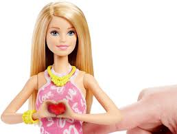 amazon barbie light heart doll toys u0026 games