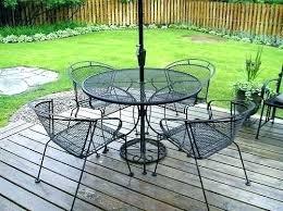 mesh wrought iron patio furniture iron mesh patio furniture four patio wrought iron mesh arm chairs