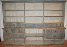 original painted apothecary shop fitting antique cupboards