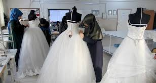 Used Wedding Dress Something Old Something New Turkish Students Redesign Used