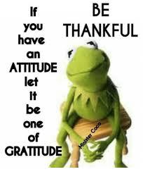 Gratitude Meme - be you thankful have an attitude let be one gratitude meme on me me