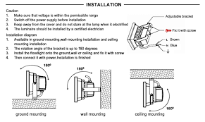 how to install flood lights 20 watt rotating christmas lights projector 20w led flood light warm