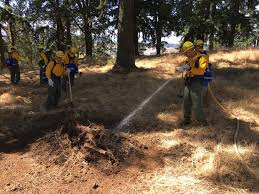 Wildfire Training by Wildfire Oregon Dept Of Forestry Oregon National Guard Readies