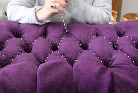 How To Button Upholstery Online Upholstery Learn How To Diamond Tuft Like A Pro Modhomeec