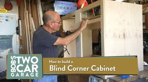 how to build an corner cabinet how to make a blind corner kitchen cabinet