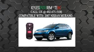 nissan murano remote start how to replace nissan murano key fob battery 2007 youtube