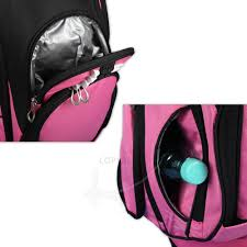 Design By Yourself by Stand Bag In Pink Design Ball Pocket Kellermann
