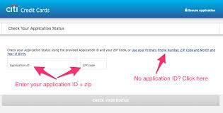 citi application status check tips reconsideration phone line