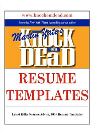 amazon com knock u0026 039 em dead resume templates plus 110 resume