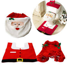 Christmas Bathroom Rugs Christmas Bathroom Decor Ebay