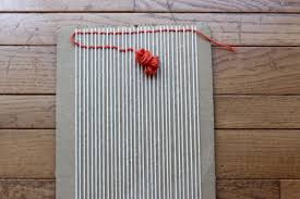 basic diy loom and woven wall hanging