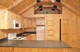 Log Cabin Floor Plans With Loft by Pine Creek Cabin Kitchen Mini House Stuff Pinterest Cabin