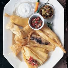 chile pork tamales