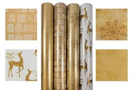 and gold christmas wrapping paper best christmas wrapping paper 2017 compare buy save heavy
