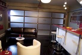 Wet Bar Makeover Clopay Door Blog Nascar Theme Garage Makeover