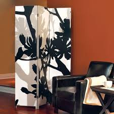 home decorators collection 5 83 ft black 3 panel room divider