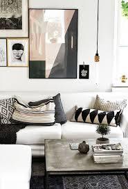 decorative living room ideas 48 black and white living room ideas decoholic