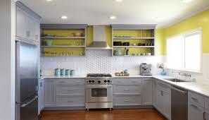 remodelaholic grey and white kitchen makeover k c r