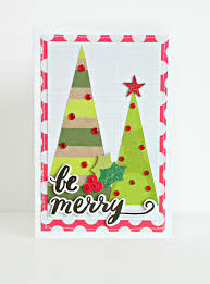 card making u0027be merry u0027 christmas card u2014 u0026 my big ideas