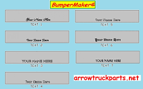 bumpermaker international 9400i u0026 9200i bumper
