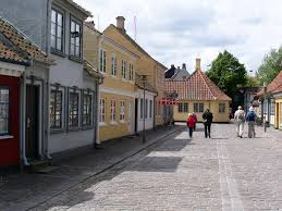panoramio photo of the street ramsherred in odense fyn funen