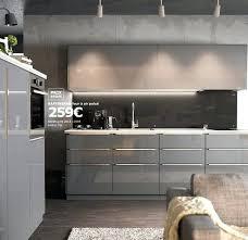 cuisine ikea grise cuisine ikea grise laquee cuisine grise laquee cuisine equipee