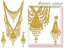 gold rani haar sets 22k gold bridal set rani haar ajns53735 22k gold necklace