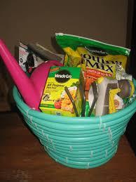 Gardening Basket Gift Ideas Hose Gardeners Gift Basket Gift For The Green