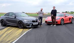 smallest cars who wins porsche 718 cayman s vs bmw m2