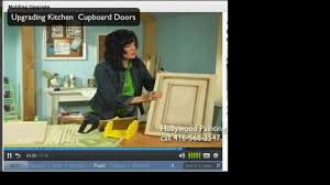 how to fix up kitchen cabinet doors youtube