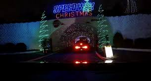 charlotte motor speedway christmas lights 2017 carolina pack at christmas lights at charlotte motor speedway