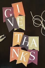 give thanks banner free printable printable banner