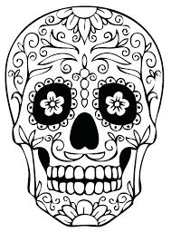 printable coloring pages sugar skulls sugar skull color pages 9 fun free printable coloring pages sugar