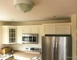 how to install crown molding on cabinet how to install crown